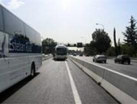 Fomento licita la ampliación del acceso al carril Bus-Vao de la A-6