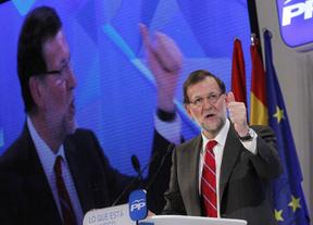"""Rajoy dice que la candidatura del PP en Madrid """"no está encima de la mesa"""""""