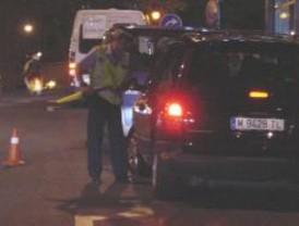 Detenido un conductor ebrio en Coslada tras saltarse un control
