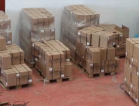 Detienen a seis personas que ocultaban 225 kilos de coca
