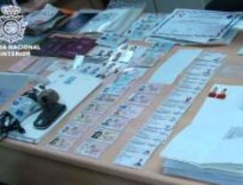 Desmantelado un laboratorio de falsificaciones en San Fernando de Henares