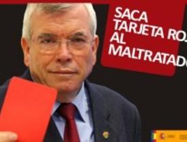 Getafe anima a sus vecinos a 'sacar tarjeta roja' al maltrato de mujeres