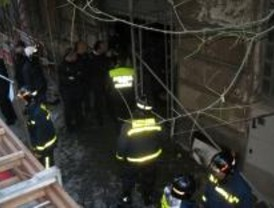 Hallado el cuerpo de un hombre calcinado en un edificio en obras