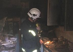 Extinguido un incendio en una vivienda de Pozuelo