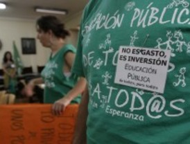 Los profesores perderán 77 euros cada día de huelga