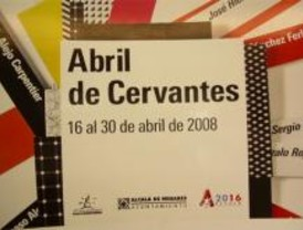 Alcalá homenajea en abril a Cervantes