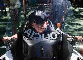 Campamento policial por la inclusión