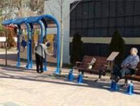 Inaugurada una nueva área de juegos para mayores en Pozuelo de Alarcón
