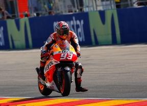 Pole y récord para Márquez en MotorLand