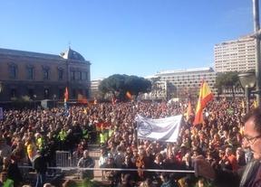 Manifestación vícitmas del terrorismo