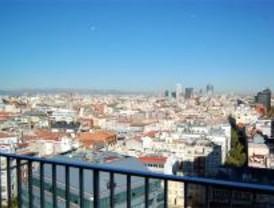 El aire de Madrid registró este martes altos niveles de partículas en suspensión