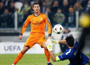 Cristiano y Bale salvan un empate ante la Juventus