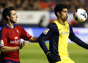 Osasuna arrolla al peor Atlético de Simeone