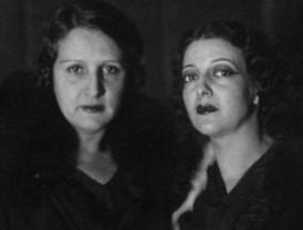 Una foto histórica: Margarita Xirgu y Carmen Carbonell