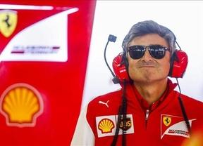 Ferrari no sale del pozo