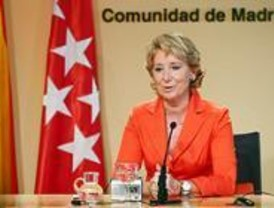 Aguirre pide a Zapatero que no se presente por Madrid