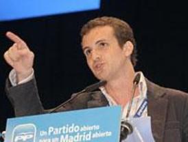 Pablo Casado, reelegido presidente de Nuevas Generaciones del PP de Madrid