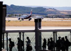 Un problema técnico obliga a abortar el despegue de un avión en Barajas