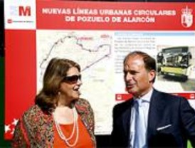 Dos nuevas líneas de autobús en Pozuelo conectarán con el Metro Ligero