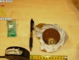 Alfajores rellenos de cocaína