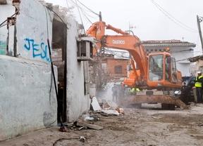 Comienza el desmantelamiento del poblado chabolista de El Ventorro