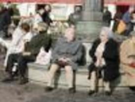Las pensiones suben un 6,7 por ciento en Madrid