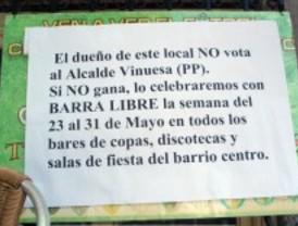 Barra libre en Alcobendas si pierde el PP