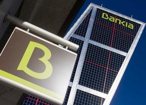 Sede de Bankia en la plaza de Castilla.