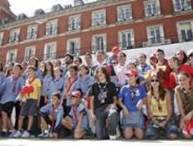Cientos de scouts celebran su centenario en Madrid