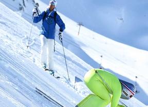 La pista Riberal, homologada por la Federación Internacional de Esquí