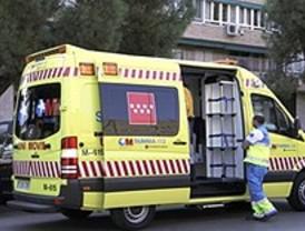 Una explosión en Parla deja dos heridos