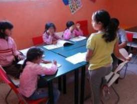 Siete profesores para los 141 niños del Gallinero