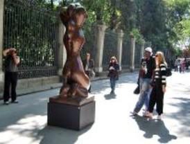 La Cuesta de Moyano y el Paseo del Prado acogen una exposición de Baltasar Lobo