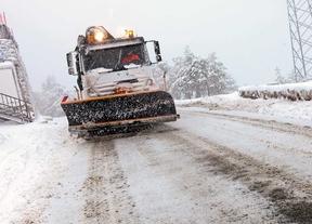 El 112 avisa de previsión de nieve de hasta 5 centímetros en la sierra