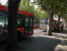 La EMT reduce en verano la flota de autobuses hasta un 40%