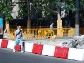 La Comunidad corta las calles de la capital con motivo de las obras de remodelación