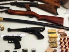 Desarticulada una red que arreglaba armas viejas y las vendía en el mercado negro