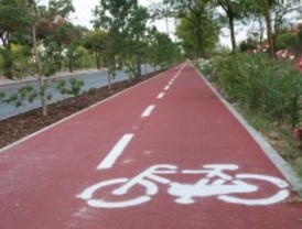 8 kilómetros de carril bici seguro en Tres Cantos