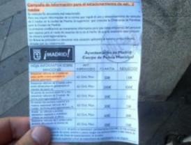 El Ayuntamiento inicia una campaña informativa para que las motos aparquen bien en las aceras