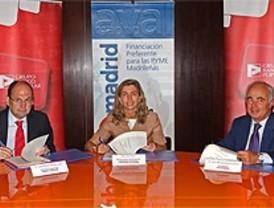 Avalmadrid y el Banco Popular se unen para financiar a las pymes