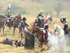 Más de 500 voluntarios recrean la batalla de Somosierra