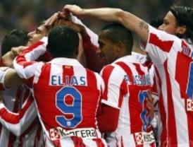 El Atlético de Madrid funde al Mallorca