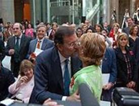 Aguirre y Rajoy dejan patentes sus diferencias