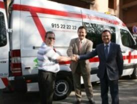 Cruz Roja Leganés estrena ambulancia
