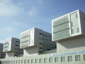 Aguirre visita a los heridos en el Hospital Infanta Sofía de San Sebastián de los Reyes