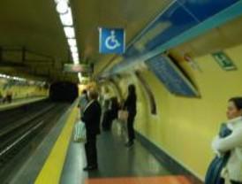 La línea 1 de metro, cortada entre Tribunal y Atocha hasta septiembre