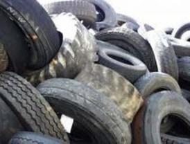 Nuevo asfaltado en las carreteras de Madrid reutilizando neumáticos usados