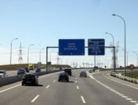 Tranquilidad en las carreteras madrileñas en el regreso de las vacaciones de julio