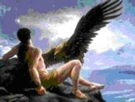 La prolactina ayuda a Prometeo a luchar contra el águila