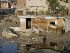 Derribadas diez construcciones en El Gallinero por orden del Ayuntamiento